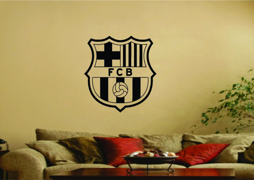 FC Barcelona Football Club Logo Wall Art Sticker | For my tiny loves ...