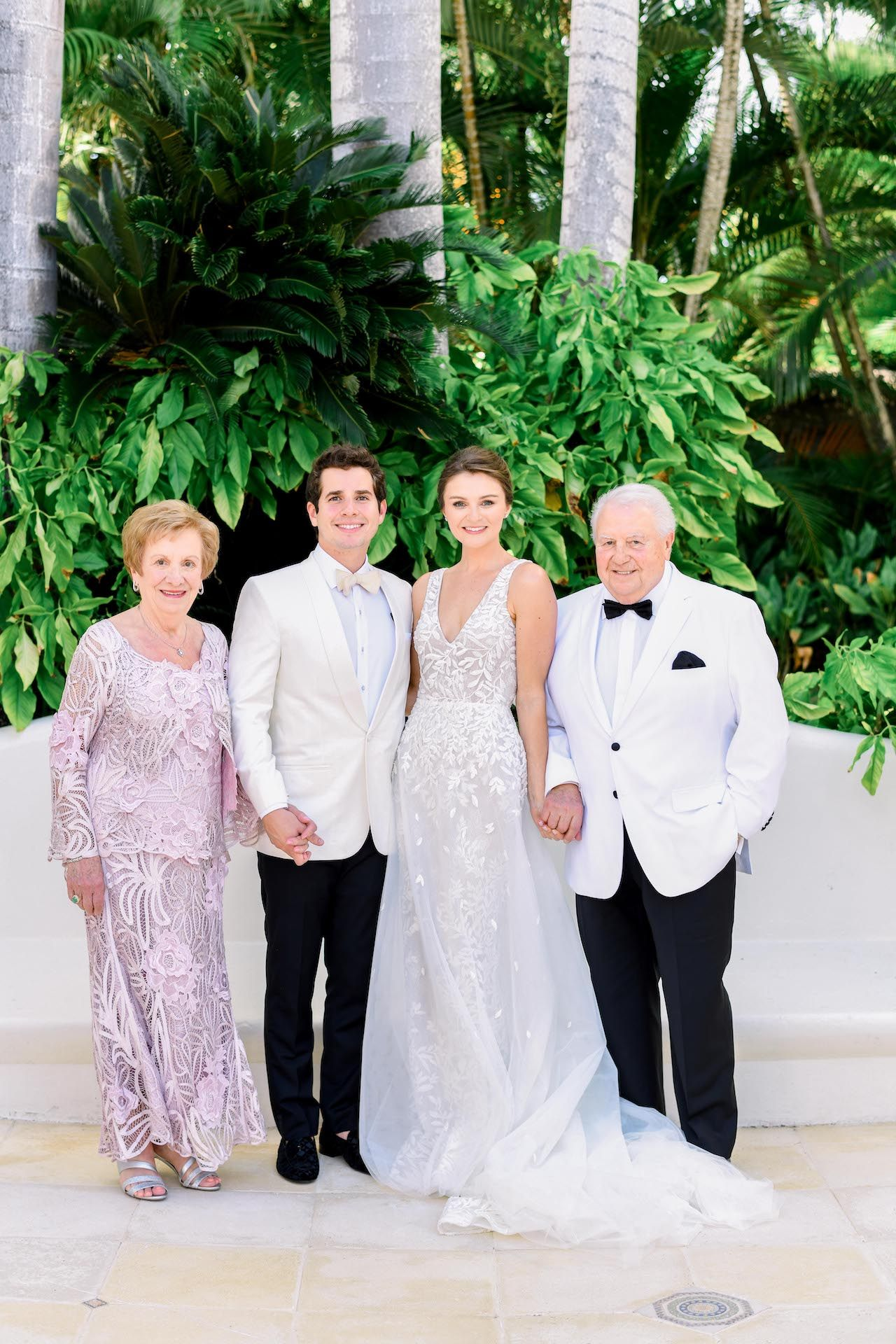 e5028dea99 New on our Blog! Lee Grebenau Bride wears Custom Bella gown on her Santo  Domingo