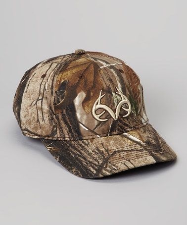 560c3b302b346 Take a look at this Green   Brown Camo Xtra Baseball Cap by Realtree on   zulily today!