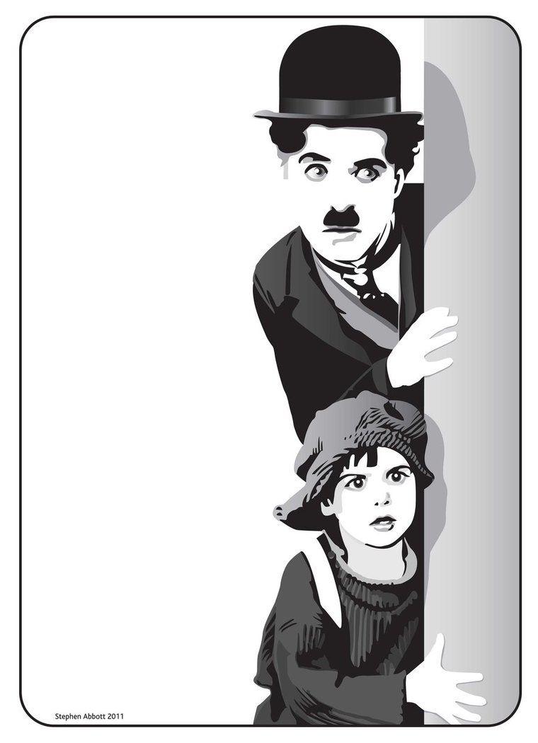 Charlie Chaplin By Henstepbatbot Charlie Chaplin Art Cute Couple Art