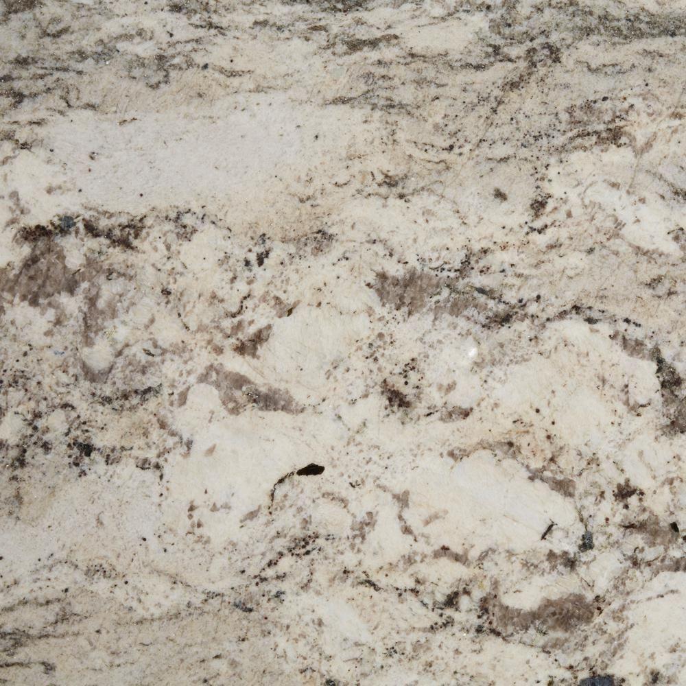 Stonemark 3 In X 3 In Granite Countertop Sample In Casa Blanca