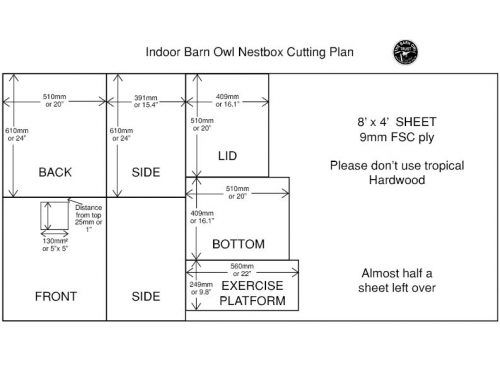 Barn Owl nestboxes: Free owl nest box plans | Owl nest box ...