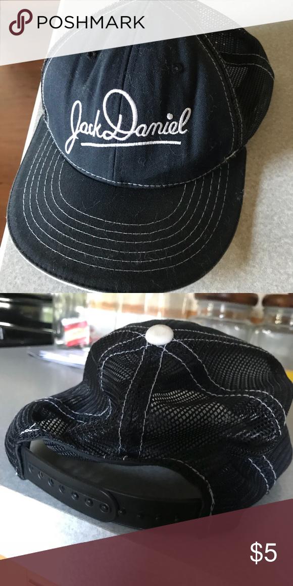 Jack Daniels Snapback Dad Cap Jack Daniels snapback dad cap with mesh  backing Accessories Hats 7725204bf68