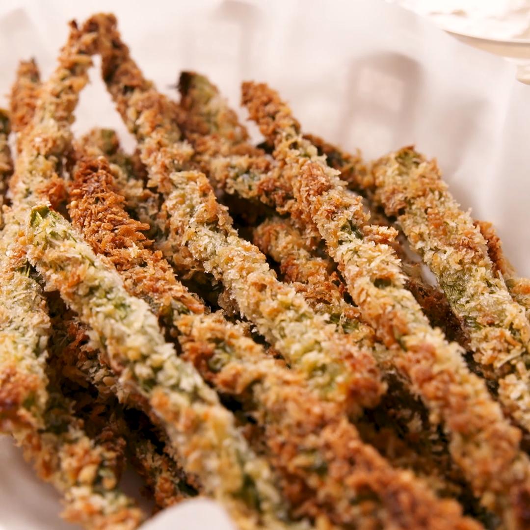 Parmesan Asparagus Fries