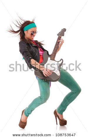 Stock Rock Roll PhotoHot Woman High And Heels ShoesWith Wearing qzGSMVpU