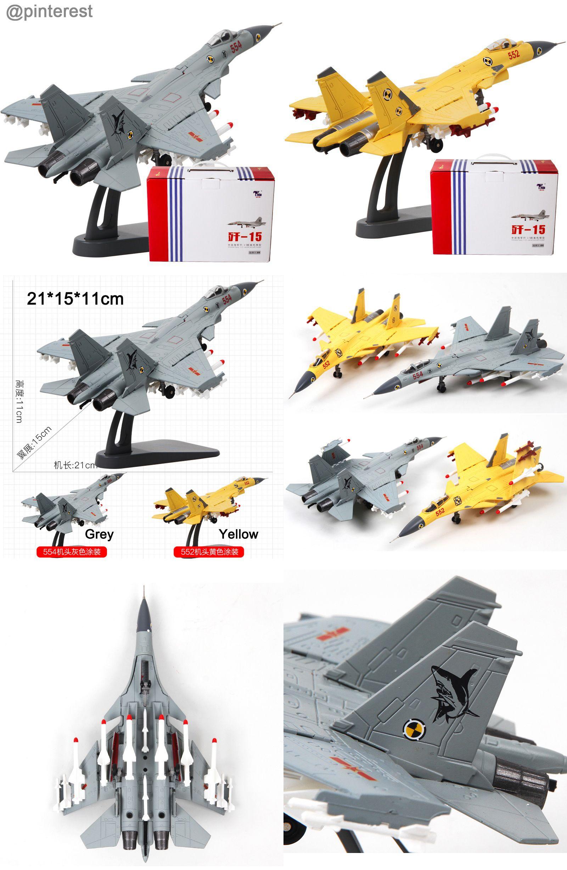 Terebo 1:100 Scale Military Model J-15 Flying Shark Fighter Attacker ...