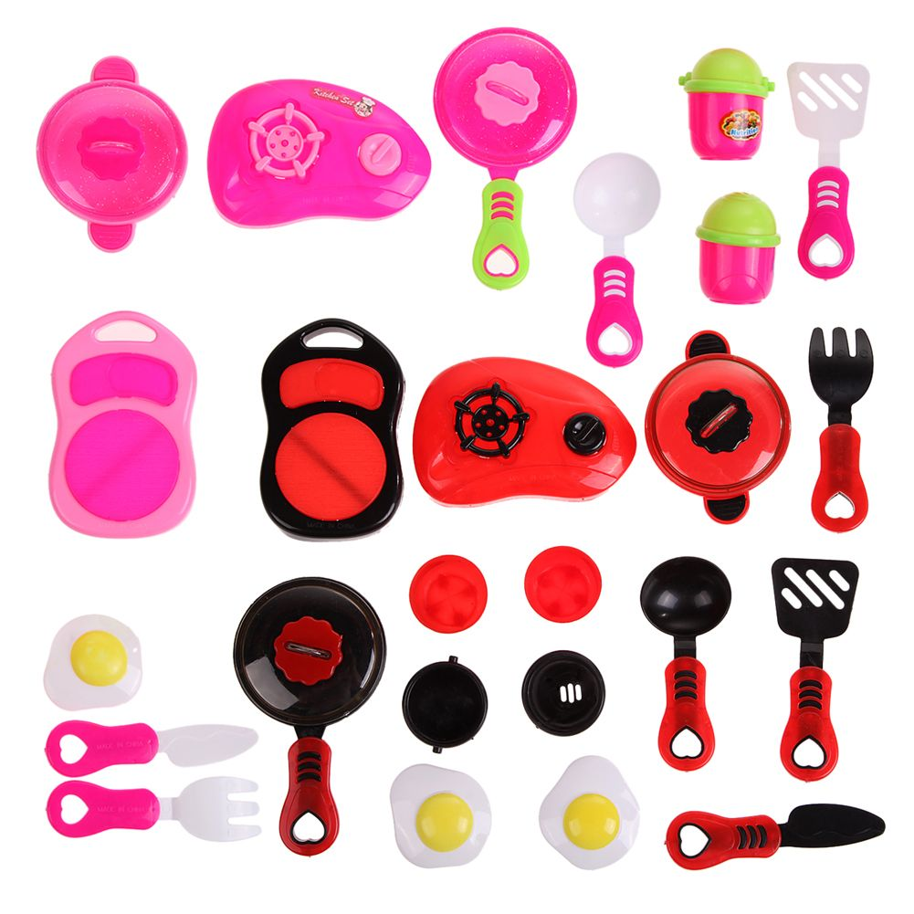 New Children DIY Beauty Kitchen Cooking Toy Role Play Toy Set ...
