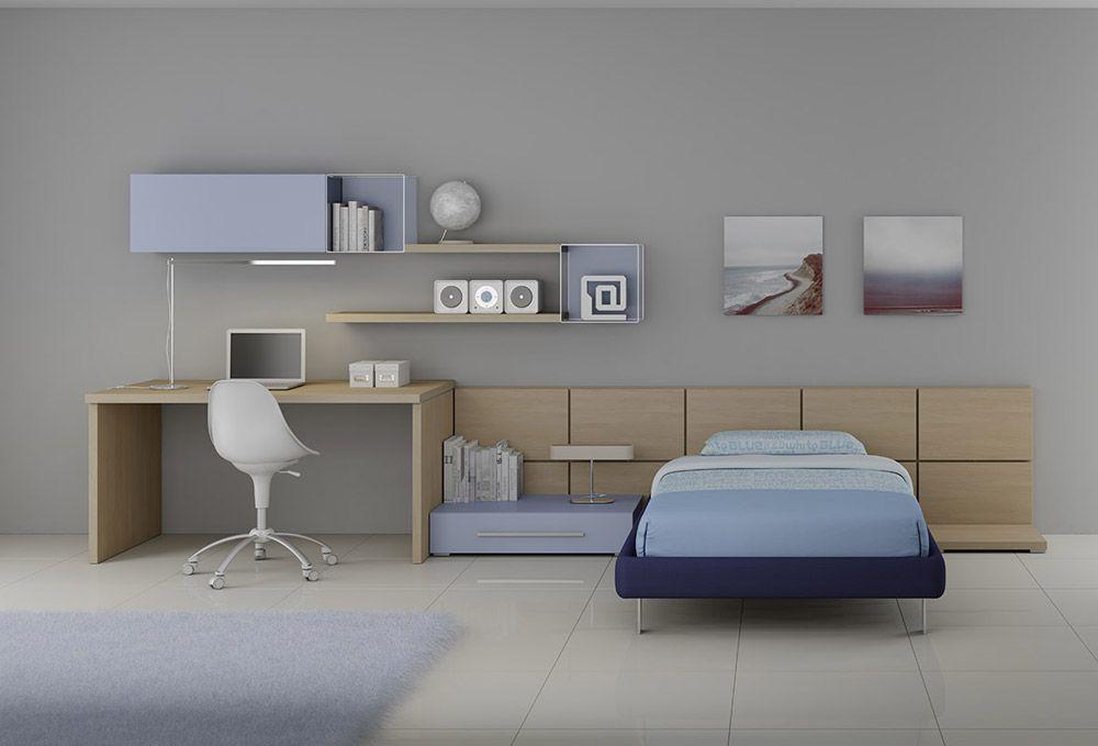 Camere Per Giovani : Moretti compact composizione lh12 start solution studio