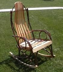 Yes! Hickory rocking chair!