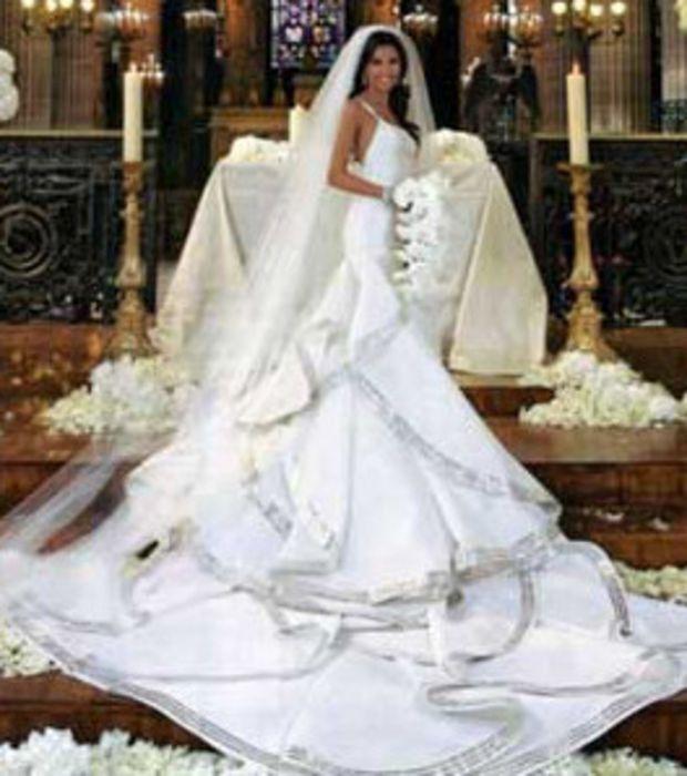 robe de mariée de eva longoria - Recherche