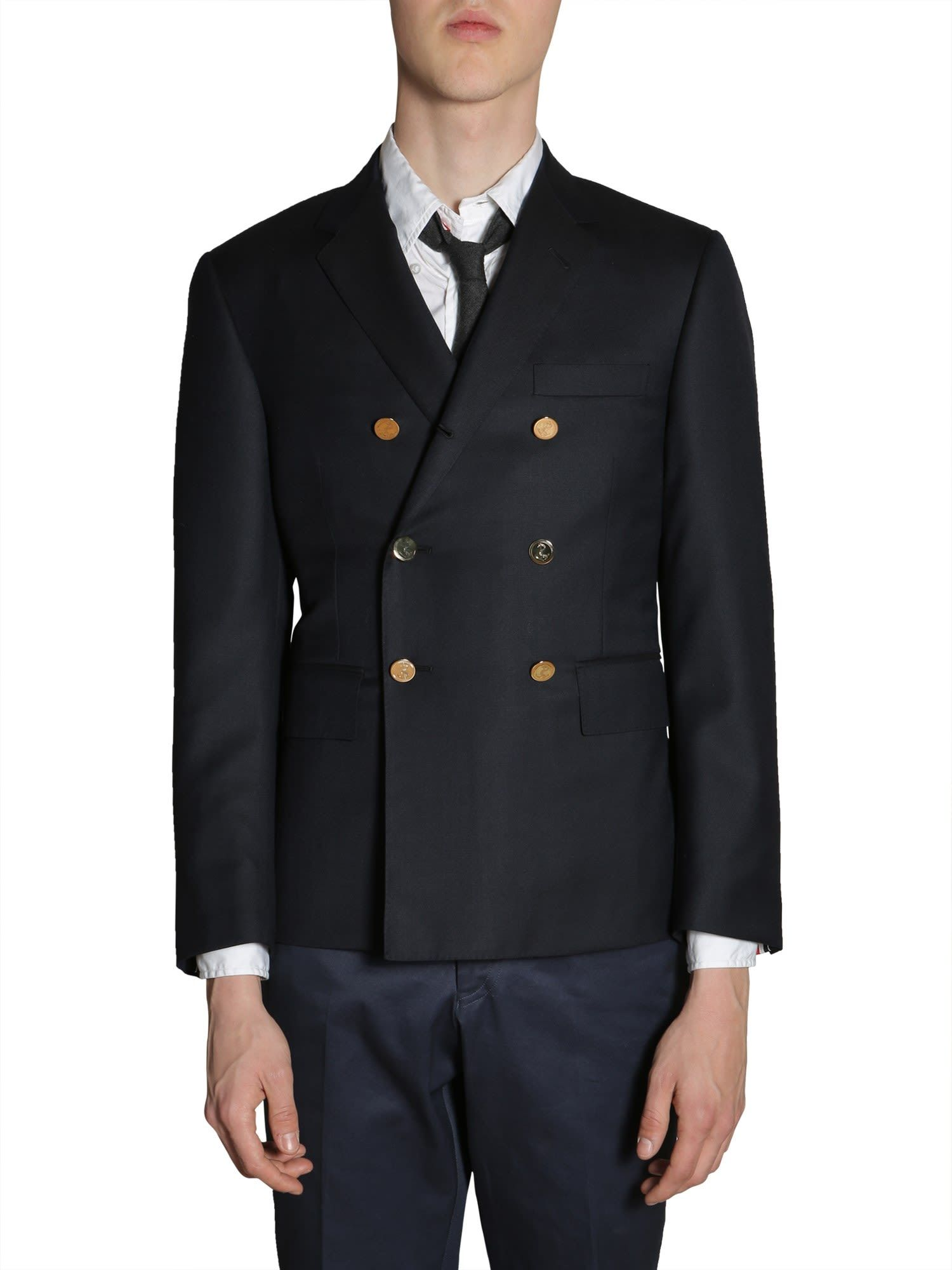 860a84d4fbc3 THOM BROWNE DOUBLE BREASTED JACKET.  thombrowne  cloth