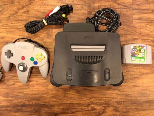 N64 Nintendo 64 Console bundle Super Mario 64 Controller