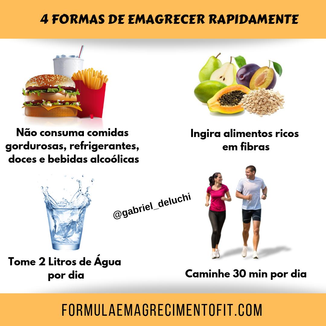 Formas simples de perder peso