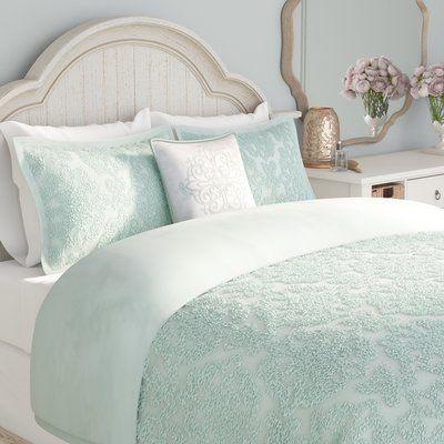 Chelsea Reversible Comforter Set Seafoam Green Bedroom Comforter Sets Bed Linens Luxury