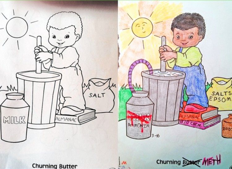27 Innocent Images In Children\'s Coloring Books That Transformed ...