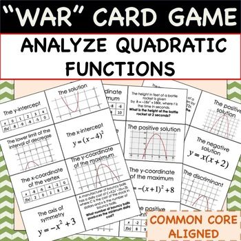 Analyze Quadratic Functions - MATH