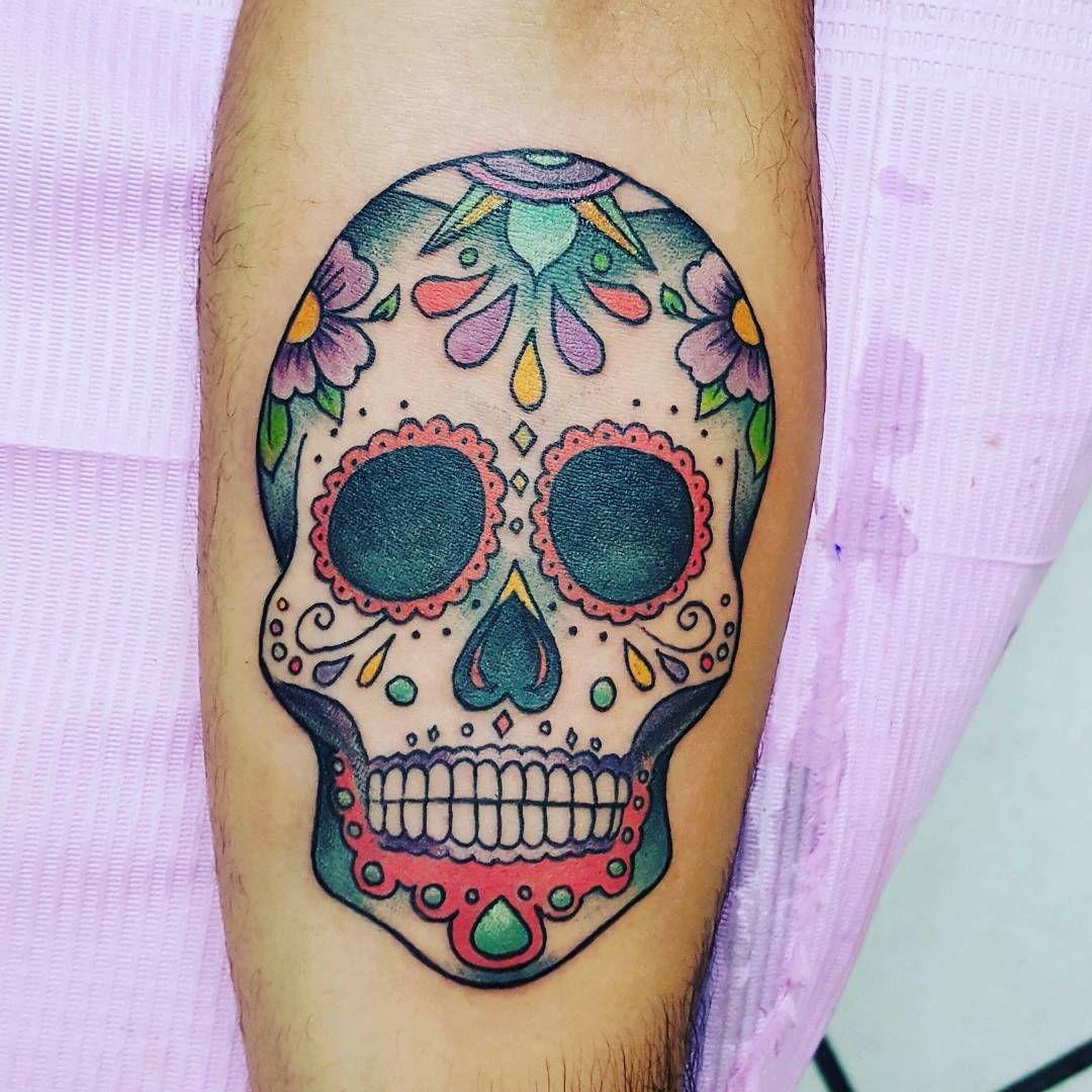 105 best sugar skull tattoo designs meaning check more at http 105 best sugar skull tattoo designs meaning check more at http biocorpaavc Images