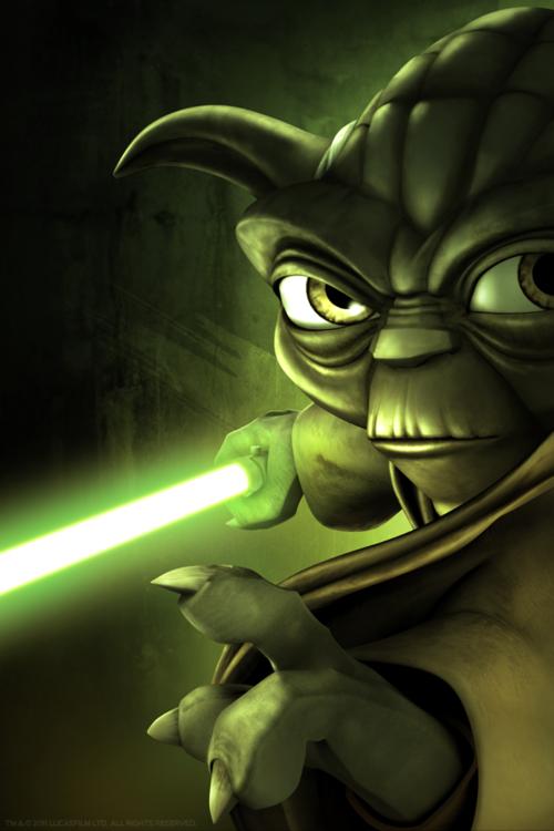 I kind of love this #Yoda print! #StarWars