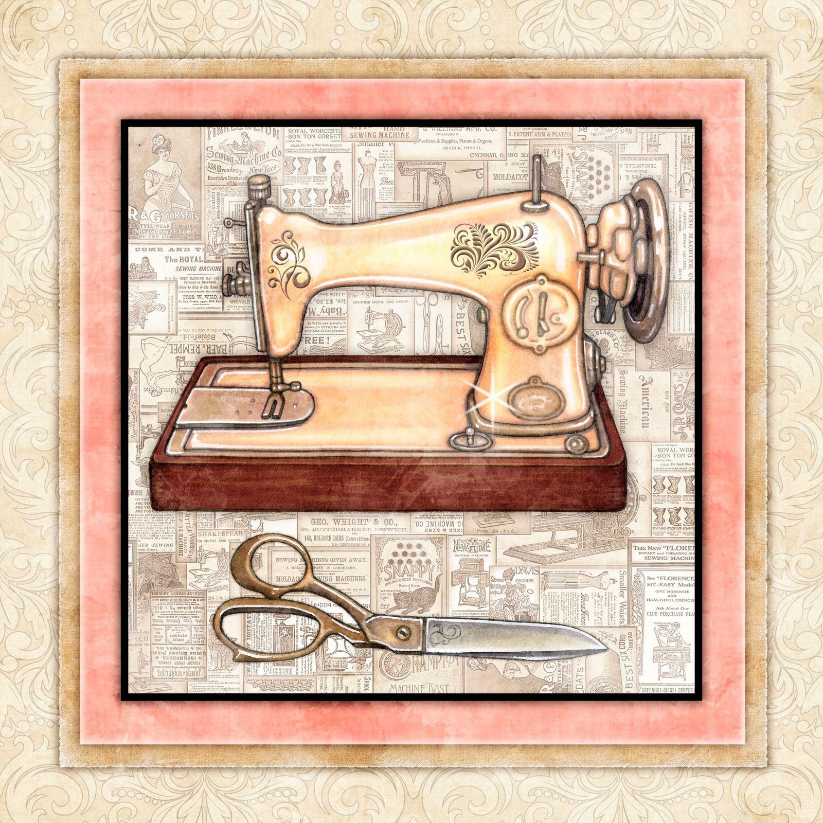 новосибирске она картинки старинная швейная машинка и ножнички угасает медленно