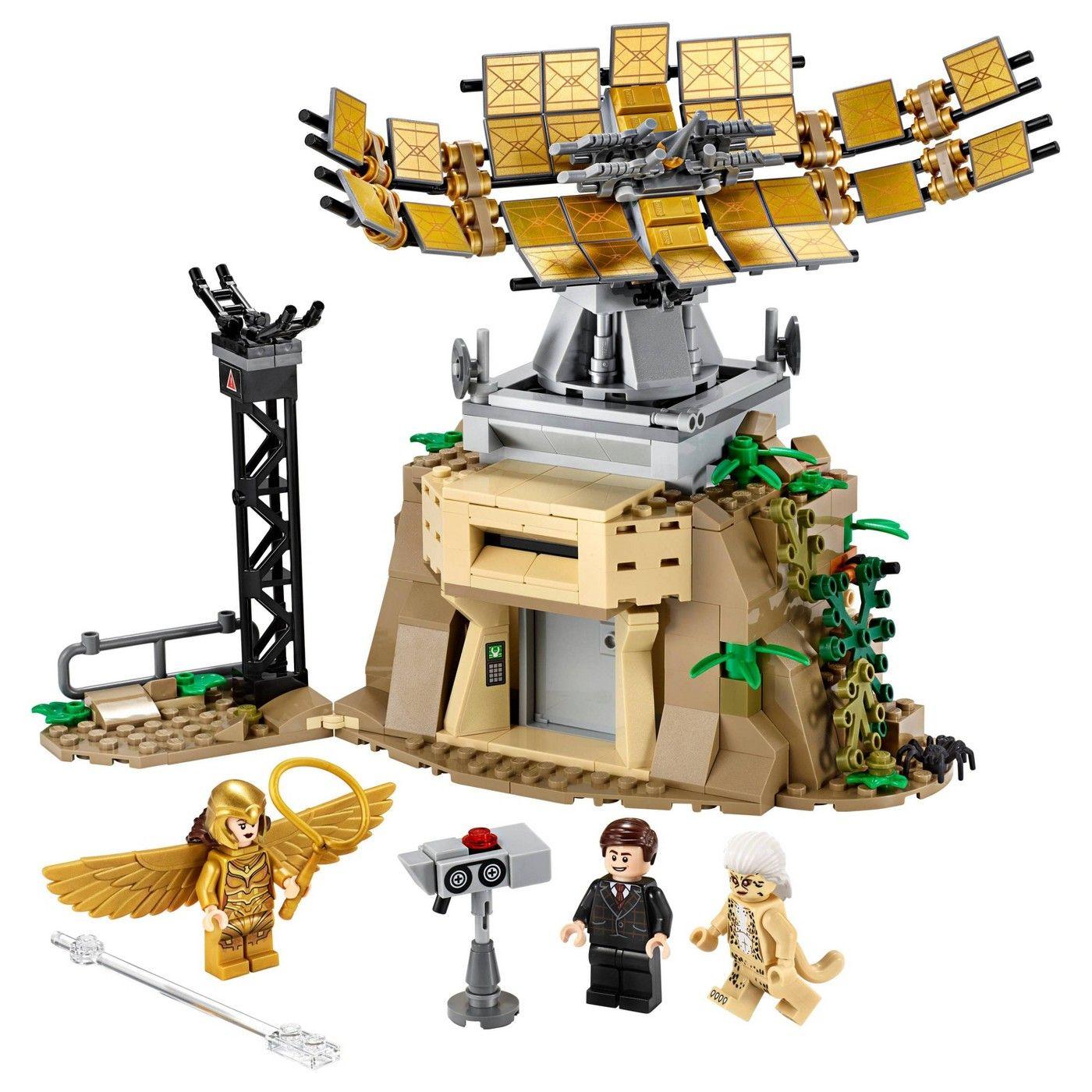 Lego Dc Wonder Woman Vs Cheetah Building Kit 76157 In 2020 Wonder Woman Vs Cheetah Lego Wonder Woman Lego Dc