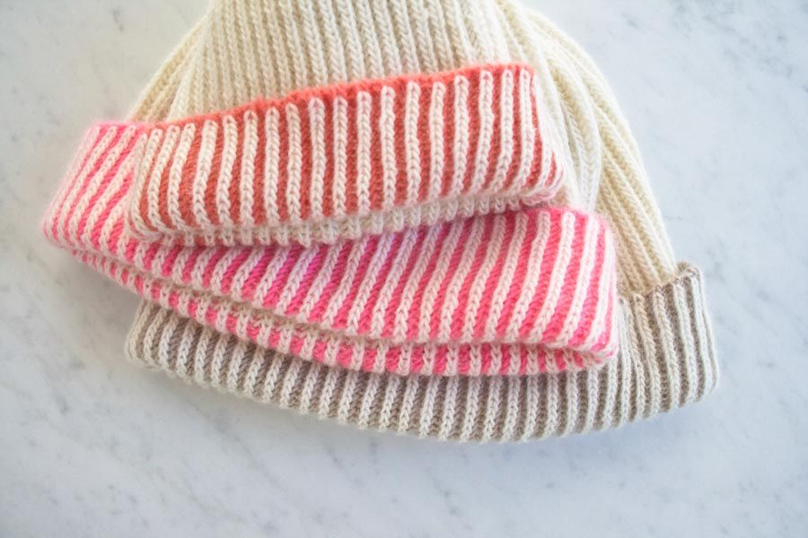 Two Sided Hat Color Dipped Hat Could Make Them To Match