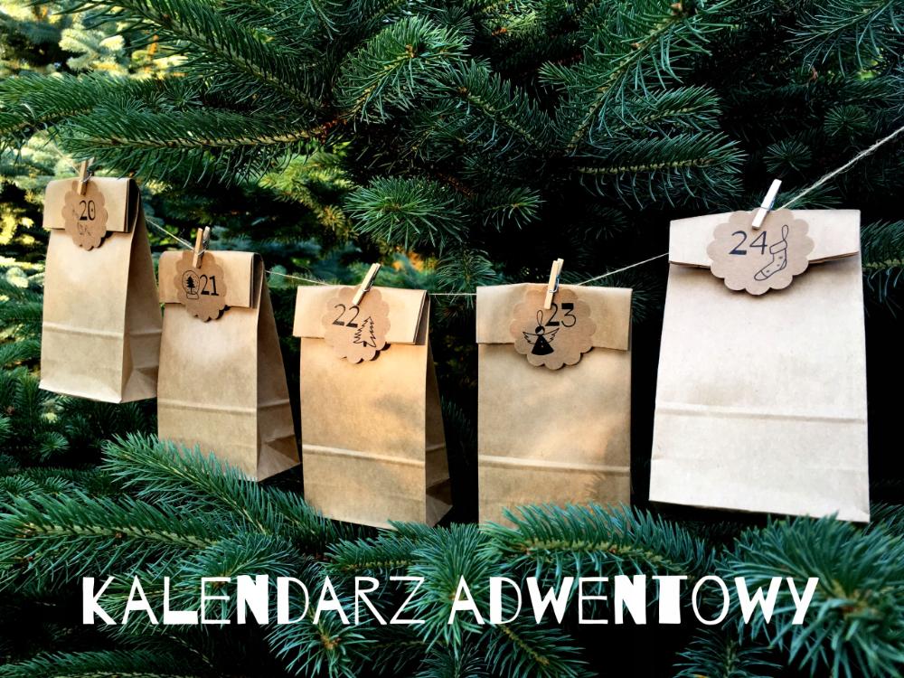 Kalendarz Adwentowy 24 Torebki Klamerki Girlanda 8577149465 Oficjalne Archiwum Allegro Gift Wrapping Gifts Christmas