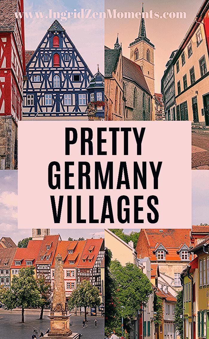 Pretty Germany villages to see on your next Germany travel escape