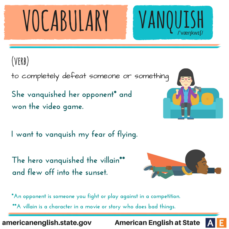 Vocabulary: Vanquish