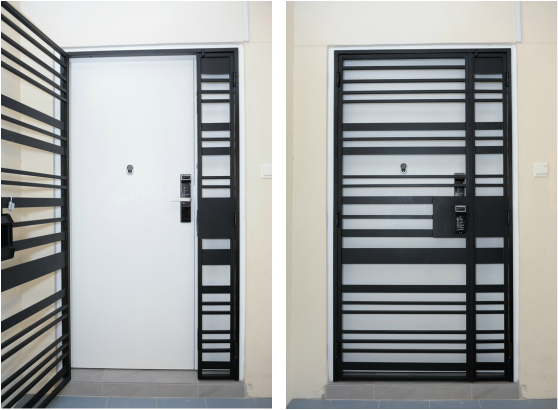 Veneer Fire Rated Door At Factory Prices In Singapore Deliver In 5 Days By Door Passion 92220659 Meta Grill Door Design Metal Doors Design Door Gate Design