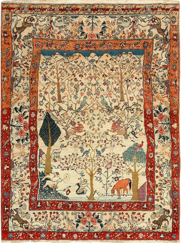 Beautiful Antique Tehran Persian Rug 49303 Nazmiyal Antique Rugs Persian Rug Rugs On Carpet Antique Persian Rug