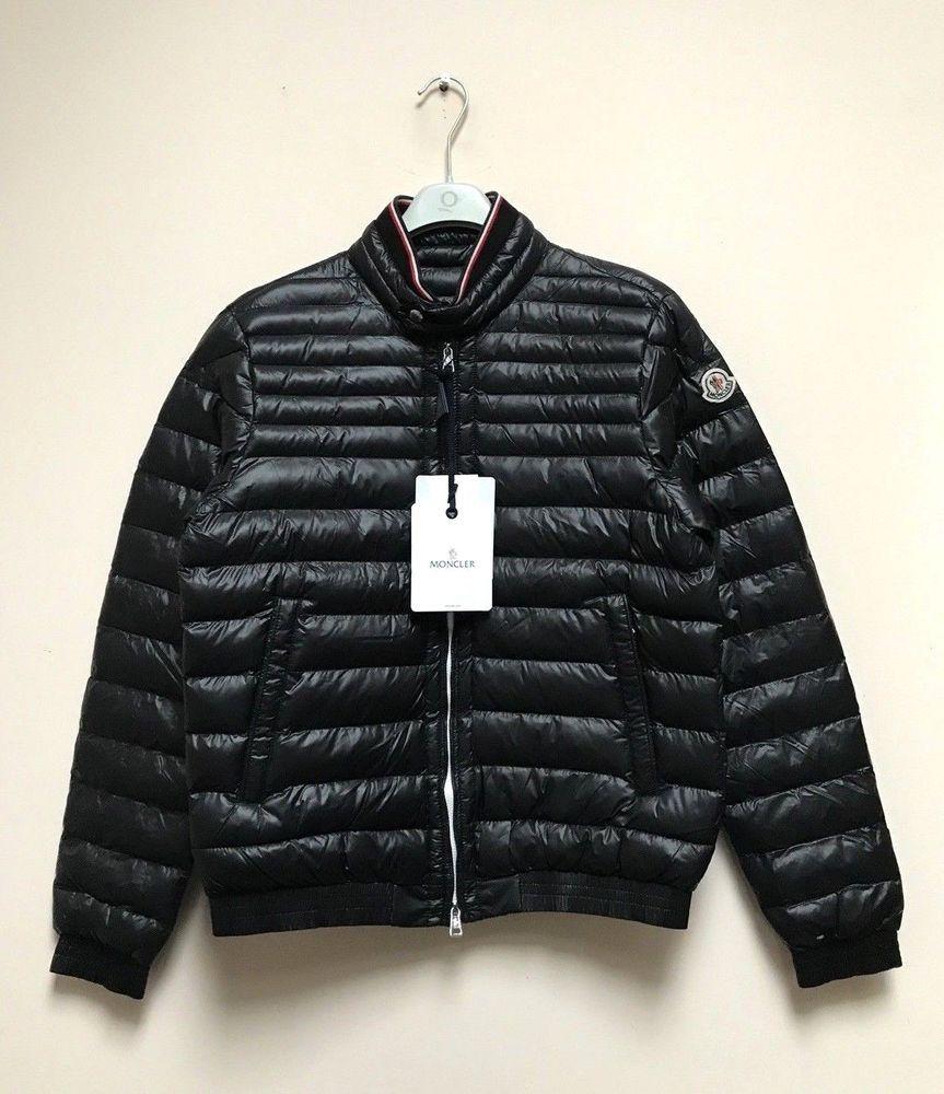 Moncler Garin down jacket black color sz 4 100 AUTHENTIC