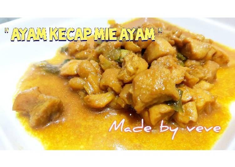 Resep Makanan Ayam Kecap Topping Mie Ayam Sederhana Sabang Sampai Merauke Resep Update Recipe Food Recipes Chicken