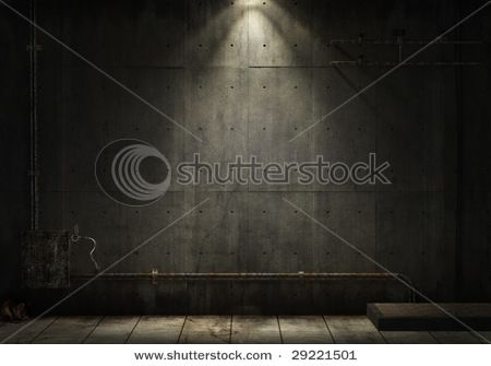 grunge background of interior industrial space . . .