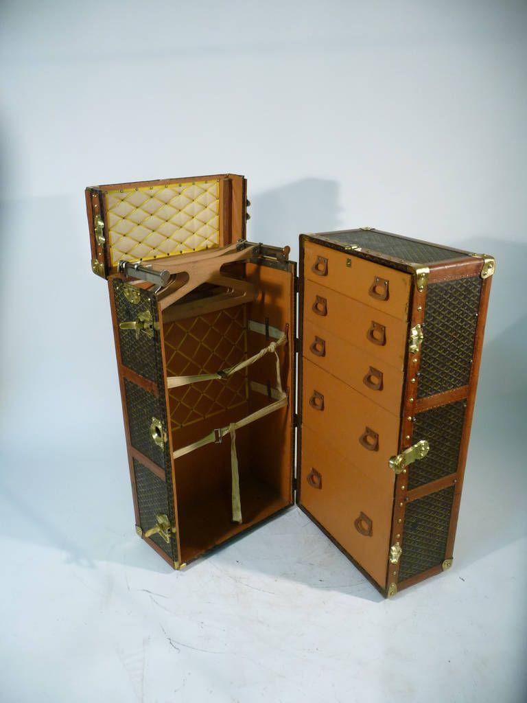 goyard wardrobe trunk 1930s malle armoire image 2