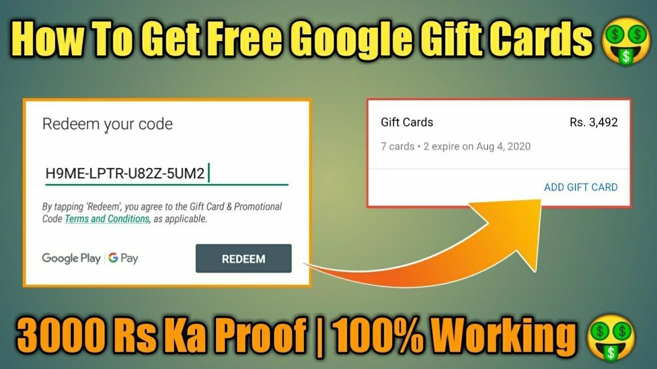 How To Get Free Google Play Gift Cards In 2020 10000 Working Google Play Codes Google Play Gift Card Google Play