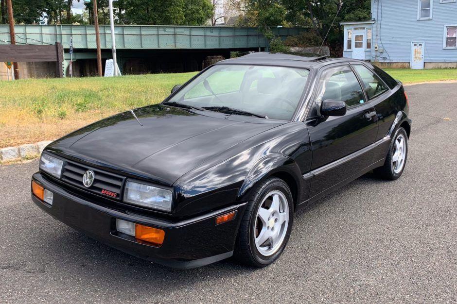 No Reserve 1993 Volkswagen Corrado Slc Vr6 5 Speed Volkswagen Classic Cars Online Thule Roof Rack