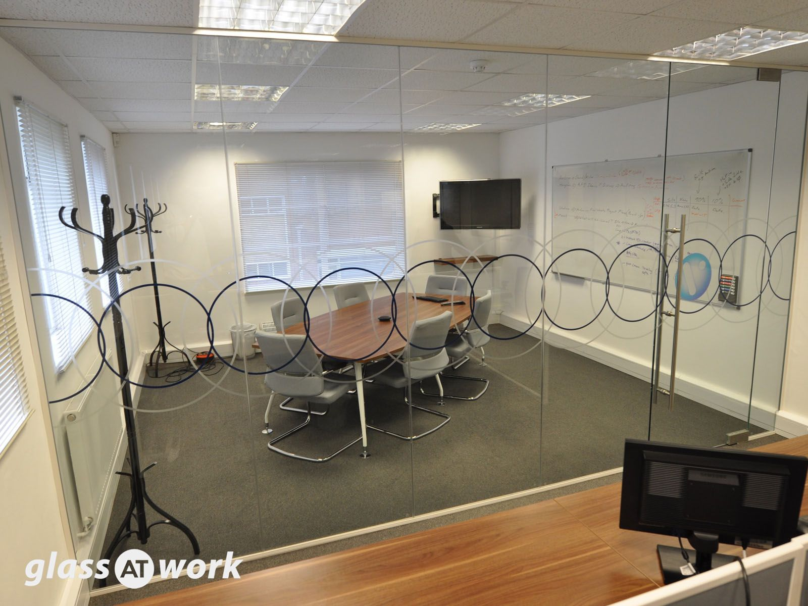 office partitions with doors. A Glass Office Partition For Vilicom In Reading, Berkshire. Partitions With Doors D