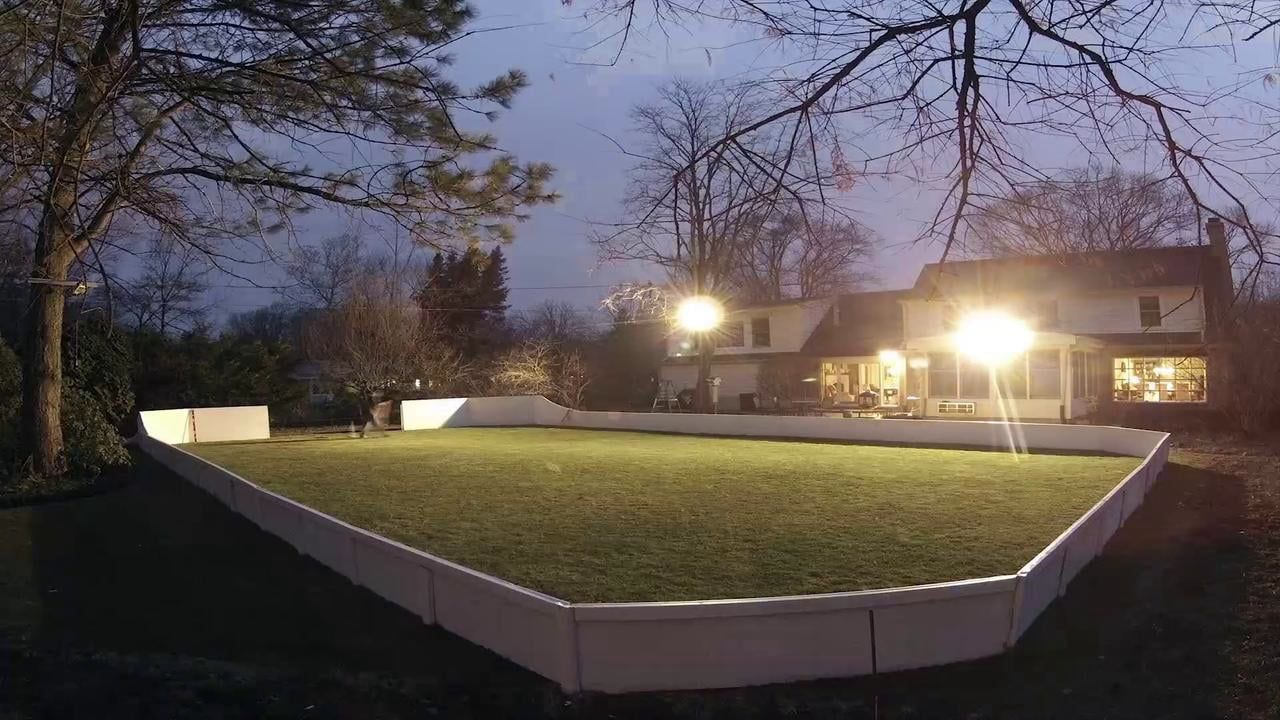 backyard ice rink time lapse backyard ice rink and hockey