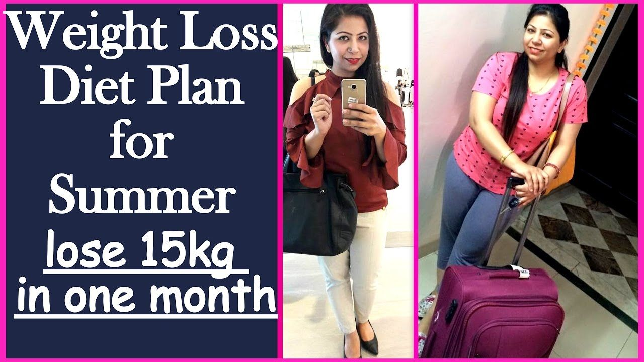 Weight Losst Plan For Summer To Lose 15 Kg In 1 Month Meal Plan Or