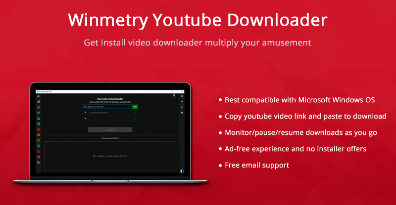 winmetry is an incredible youtube video downloader