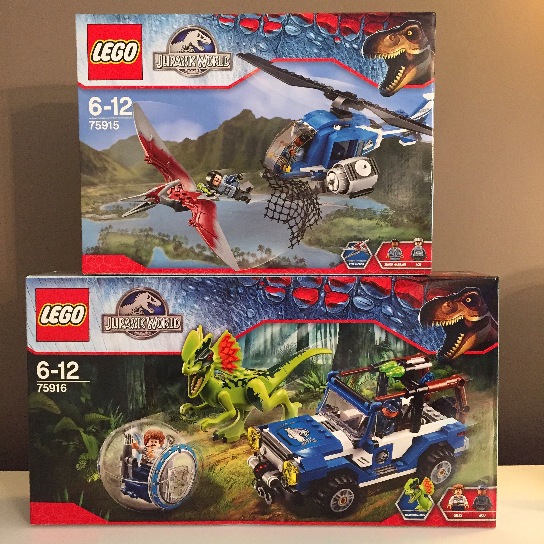 Jurassic World Lego Sets Pteranodon Capture And