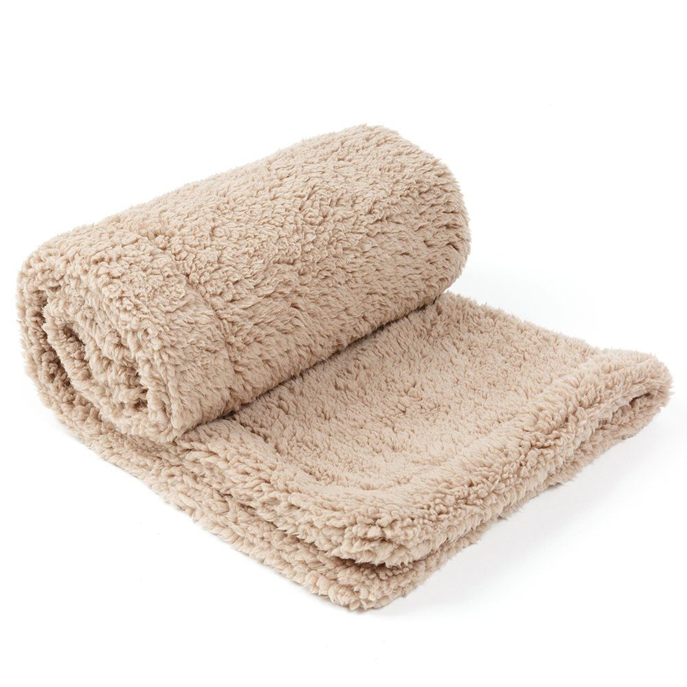 Allisandro Pet Premium Double Layer Throw Blanket Dog Cat