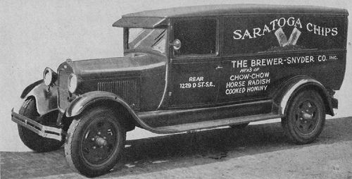 Saratoga Chips Classic Trucks Heavy Duty Trucks Old Ads