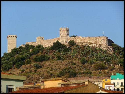 Bosa Castello Dei Malaspina Alghero Castle Monument Valley