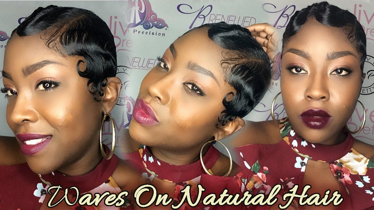 How to Wave Natural Curly Hair Nairobi Foam Wrap