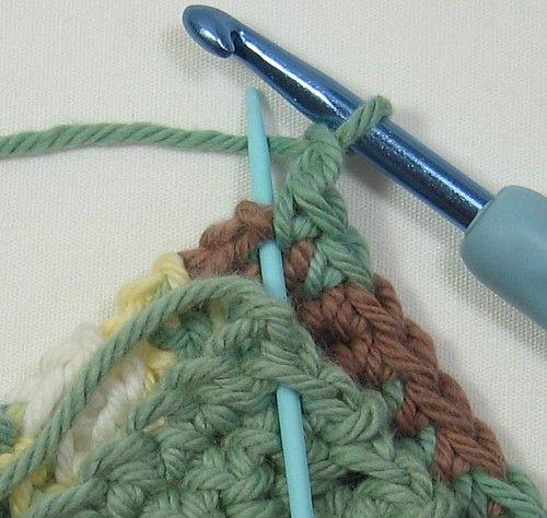 This Crochet Potholder Pattern Is One Of The Free Beginner Crochet