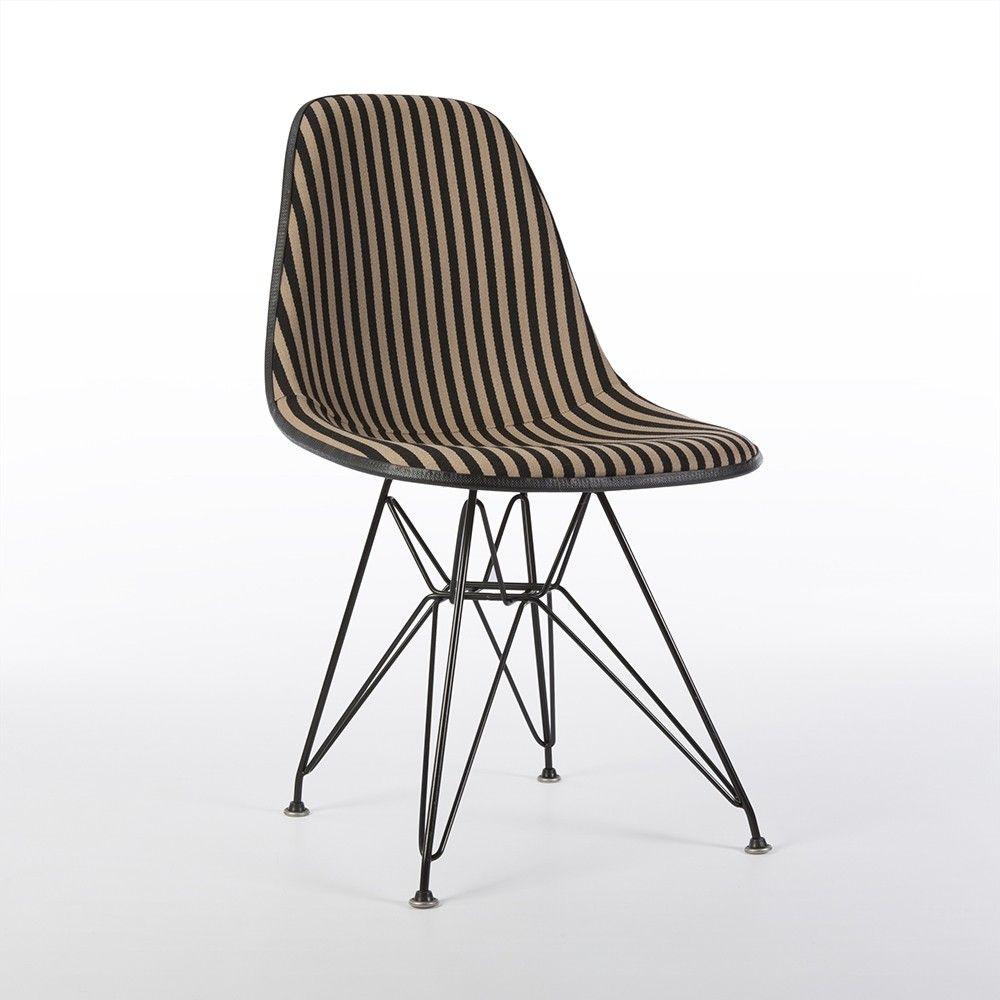 original alexander girard 39 toostripe 39 upholstered eames. Black Bedroom Furniture Sets. Home Design Ideas