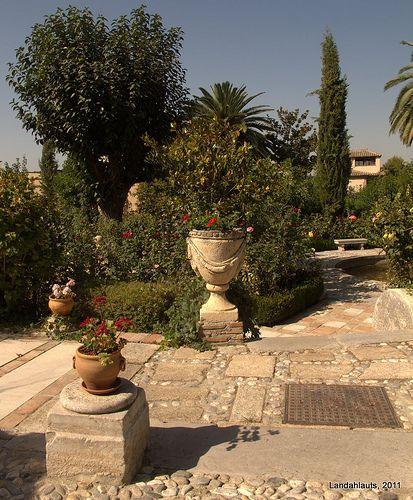 Carmen Del Aljibe Del Rey Outdoor Decor Vegetation Fountain