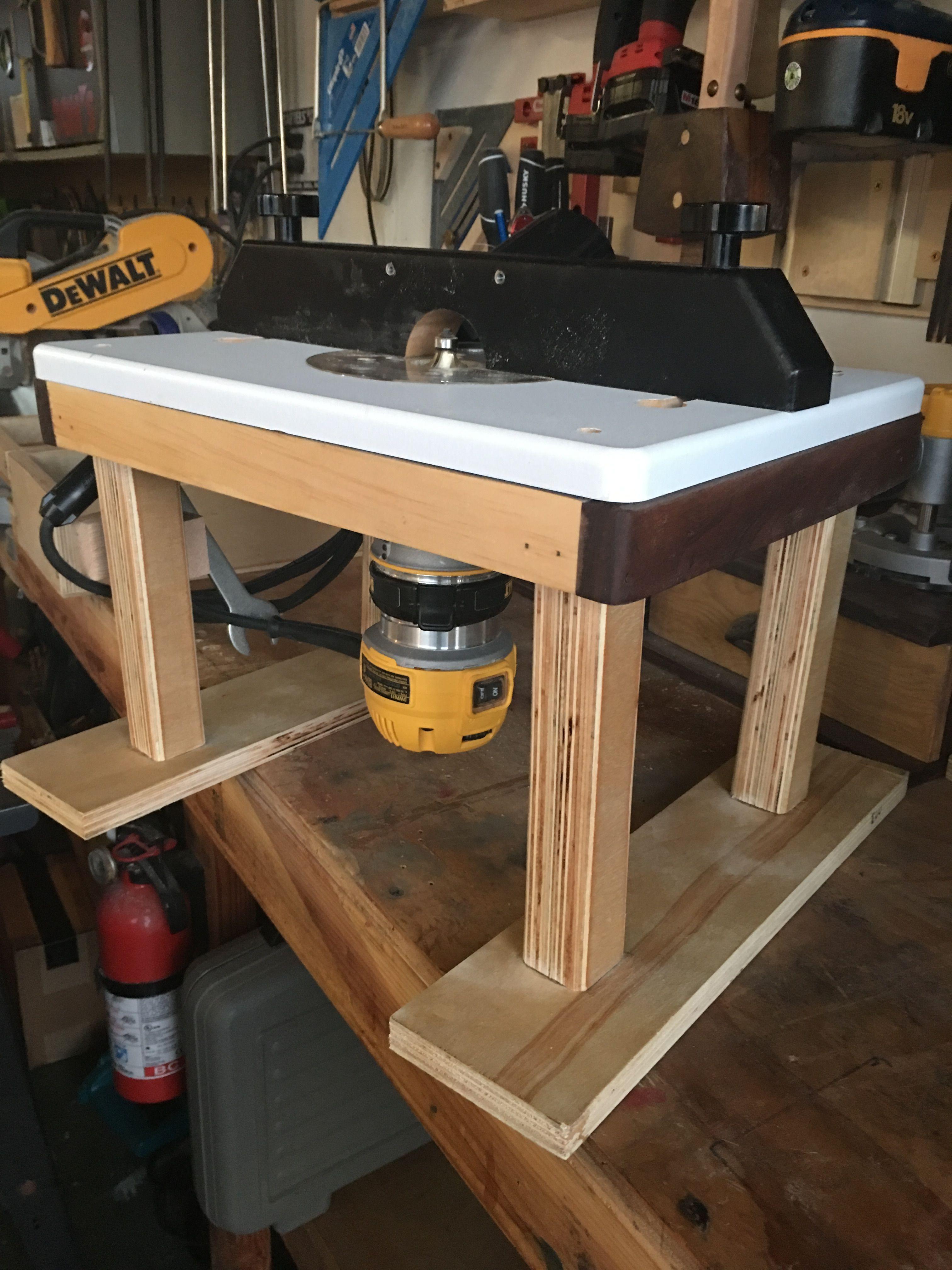 Rockler trim router table modification wood working pinterest rockler trim router table modification keyboard keysfo Images
