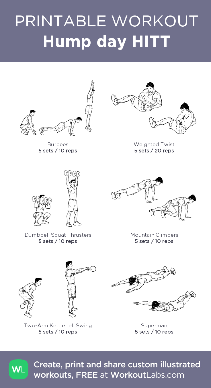 Hump day Hiit: Full body functional workout for the middle ...